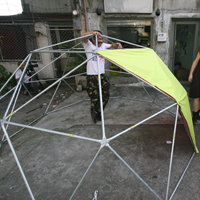 Wearable Portable Architecture is a project with the US Department of State and Manila's Green Papaya by Mary Mattingly, Bronx Museum of the Arts and Smartpower.
